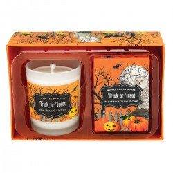 Trick or Treat Candle & Soap Gift Set