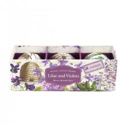 Lilac and Violets Bath Bomb Set