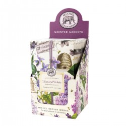 Lilac and Violets Scented Sachet
