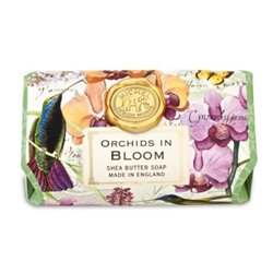 Orchids In Bloom Large Bath Soap Bar