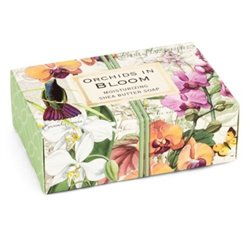 Orchids In Bloom 4.5 Oz Boxed Soap Bar