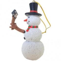 Selfie Stick Snowman™ Christmas Ornament