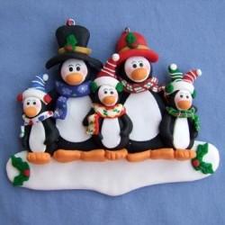 Penguin Family W/3 Kids