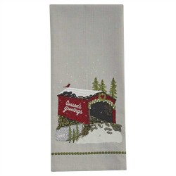 Seasons Greetings Dishtowel