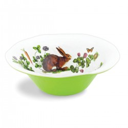 Garden Bunny Large Bowl