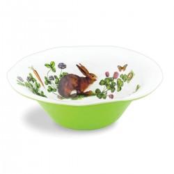Garden Bunny Large Bowl