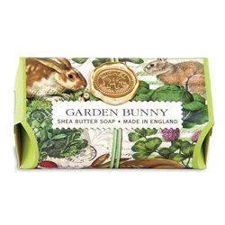 Garden Bunny Large Bath Soap Bar