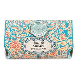 Orange Cream Large Bath Soap Bar