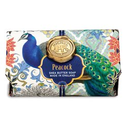 Peacock Large Bath Soap Bar