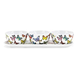 Papillon Melamine Condiment Set