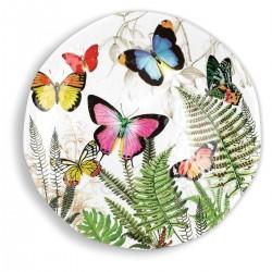 Papillon Large Round Platter