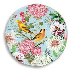 Garden Melody Lg Round Platter