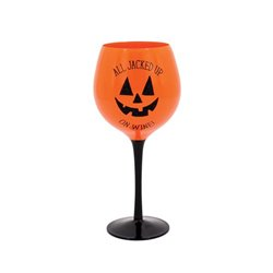 All Jacked Up Wine Glass