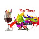 Wine Therapy - Mother's Day Sip & Painting - Wine Glass or Wine Bottle - Discount Tickets (5/9/2021)