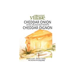 Cheddar Onion Chilled Dip