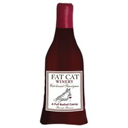 Wine Me Up Catnip Fat Cat