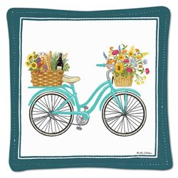 Mug Mat Spring Bike Set 4