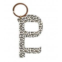 Contactless Key - Leopard Khaki
