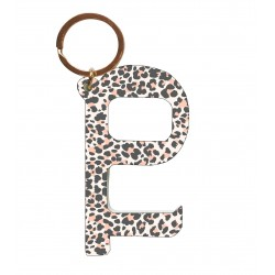 Contactless Key - Leopard Pink