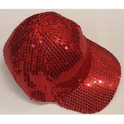 Bling It On Sequin Military Red