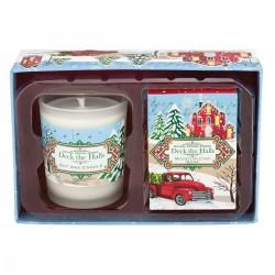 Deck The Halls Candle & Soap Set