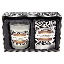 Honey Almond Candle & Soap Set