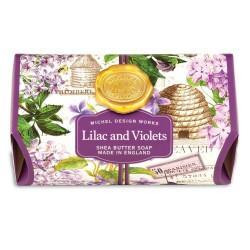 Lilac & Violets Lg Bath Soap Bar