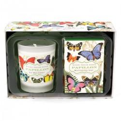 Papillon Candle & Soap Gift Set
