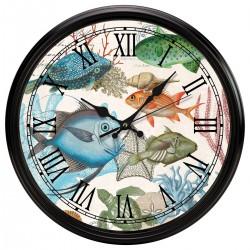 Sea Life Kitchen Clock