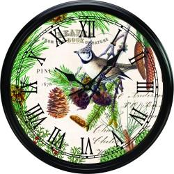 Spruce Kitchen Clock