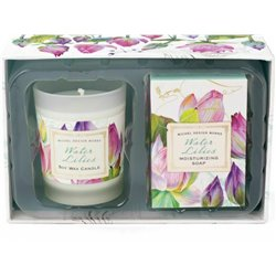 Water Lilies Candle Soap