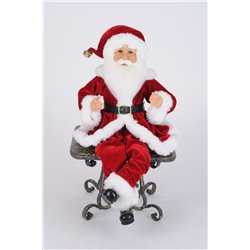 Traditional Poseable Santa