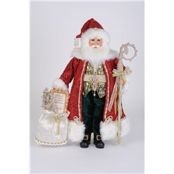 Lighted Jewel Elegance Santa