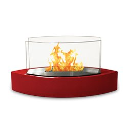 Lexington Red Tabletop Fireplace