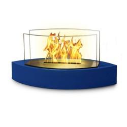 Lexington Blue Tabletop Fireplace
