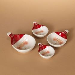 Dolomite Santa Measuring Spoons Set