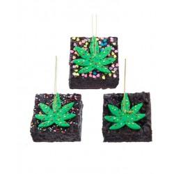 Cannabis Brownie Ornament