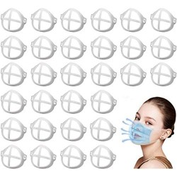 Silicone 3D Face Mask Brackets (Pack of 30)