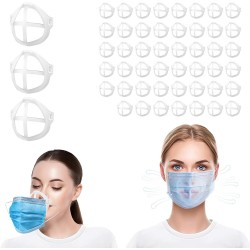 Silicone 3D Face Mask Brackets (Pack of 50)