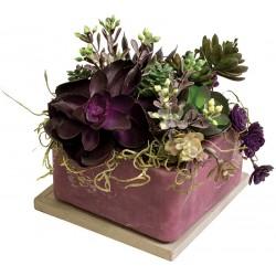"Purple Sage 6"" Square Fragranced GEO"