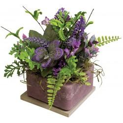 """Lavender 8"""" Square Fragranced GEO"""
