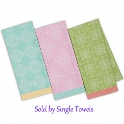 Green Easter Ornamental Dish Towel