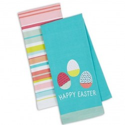 Happy Easter Dish Towels (Set of 2)