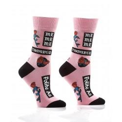 Women's Crew Socks Polite As