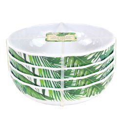 Palm Breeze Cereal Bowl Set 4