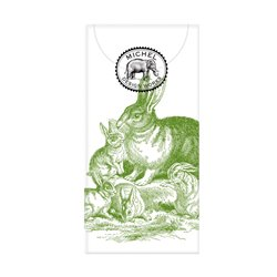 Bunny Toile Pocket Tissues