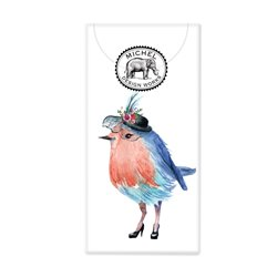 Garden Party Bird Pocket Tissues