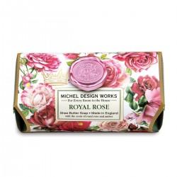 Royal Rose Large Bath Soap Bar