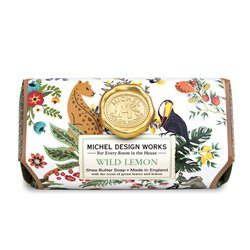 Wild Lemon Large Bath Soap Bar
