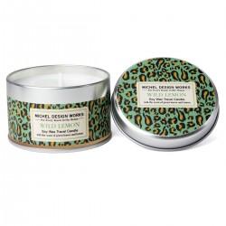 Wild Lemon Travel Candle (Leopard Print)